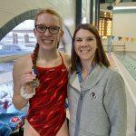 Girls Varsity Swimming beats Tippecanoe Valley 137 – 48