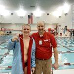 Boys Varsity Swimming beats Rochester 131 – 53