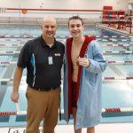 Boys Varsity Swimming beats Logansport 128 – 42