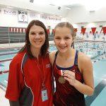 Girls Varsity Swimming beats Pioneer 142 – 38