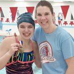 Girls Varsity Swimming beats Lewis Cass 122 – 58