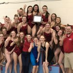 Girls Varsity Swimming/Diving Capture 4th Consecutive TRC Swimming/Diving Title