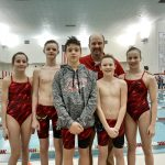 Coed Middle School Swimming beats Lewis Cass 133 – 50