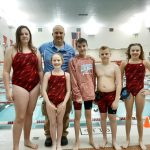 Coed Middle School Swimming beats Oak Hill 126 – 60