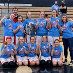 8th grade Lady Braves win back-to-back RRC Championships!