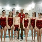 Coed Middle School Swimming beats Carroll 152 – 34 to cap Undefeated Season