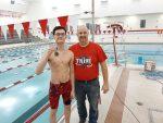Boys Varsity Swimming beats Rochester 125 – 60
