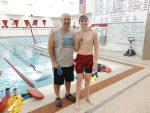 Boys Varsity Swimming beats Logansport 130 – 49