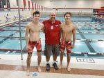 Boys Varsity Swimming beats Pioneer 136 – 42