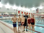 Coed Middle School Swimming beats Eastern Jr/Sr 112 – 73