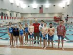 Coed Middle School Swimming beats Wabash 137 – 46