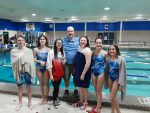 Coed Middle School Swimming beats Carroll 149 – 24