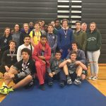 James River High School Boys Varsity Wrestling finishes 5th place