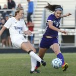 James River High School Girls Varsity Soccer falls to Cosby High School 1-0