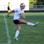 James River High School Girls Varsity Soccer beat Manchester High School 6-0