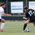 James River High School Girls Varsity Soccer beat Midlothian High School 2-1