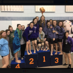 Women's Swim Team Win's Regionals