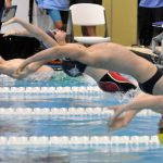 Girls and Boys Varsity Swimming sink Thomas Dale