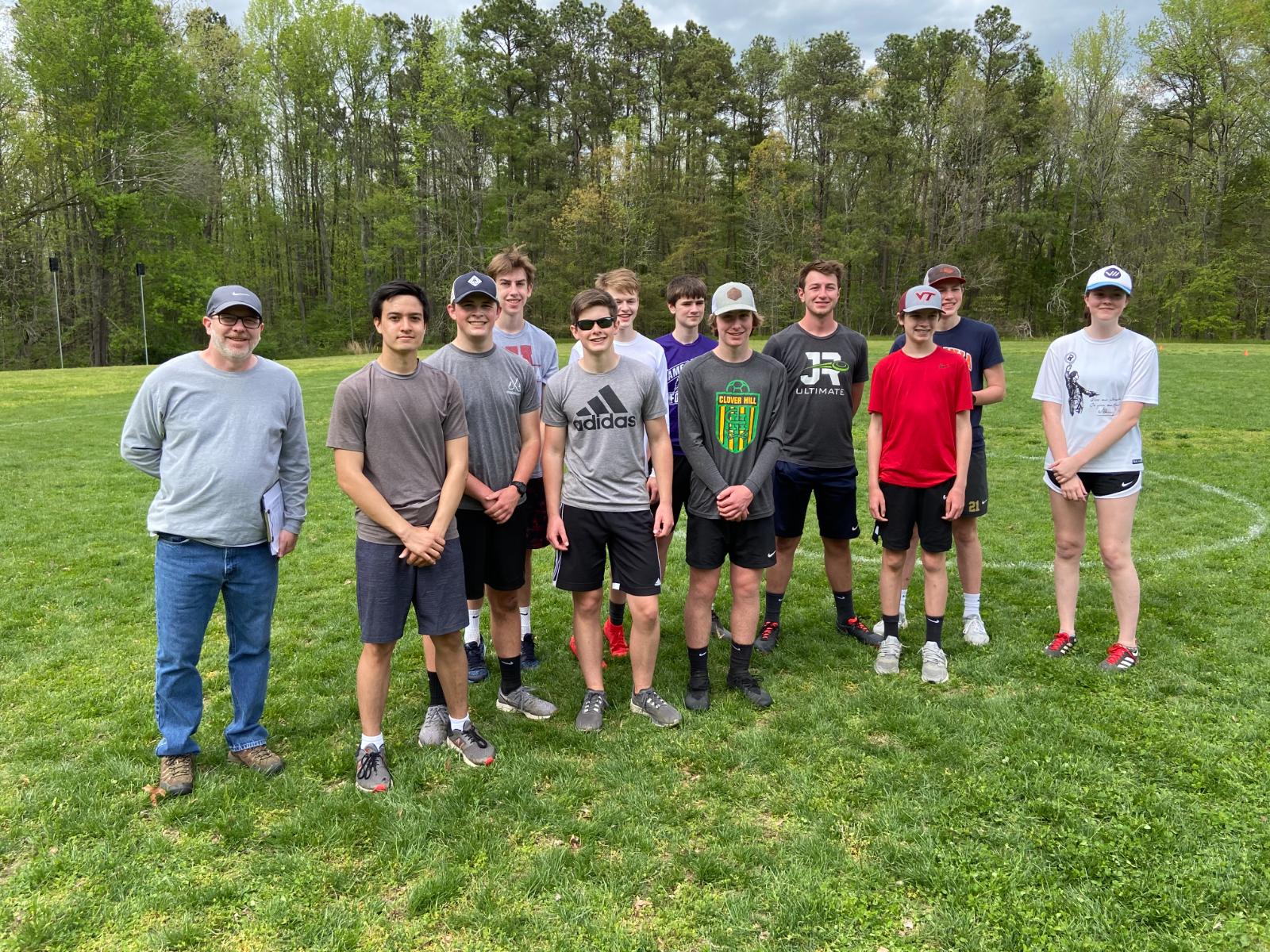 JR Ultimate Frisbee Team – Tournament runner-ups