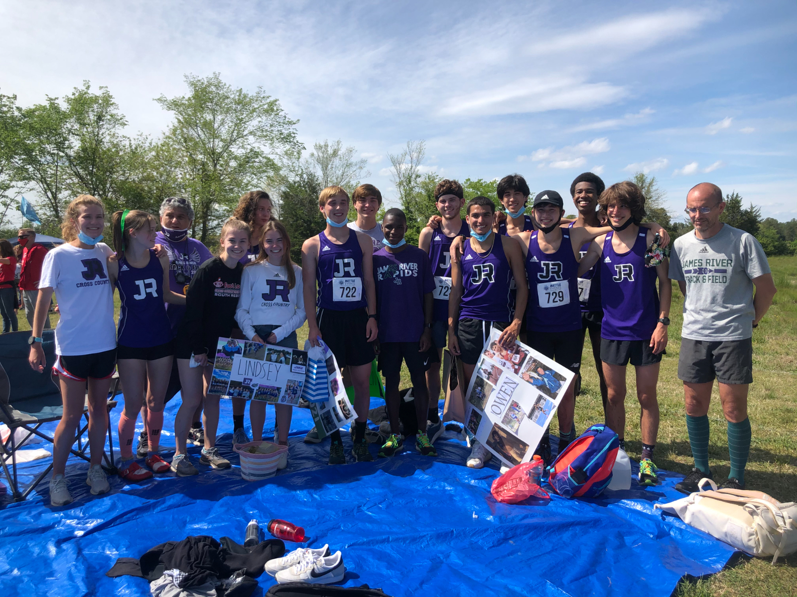 JRHS Girls and Boys XC Teams Regional Runners-Up – Both Qualify for VHSL State Championship!