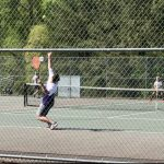 JR Boys Tennis downs Powhatan, 8-1!