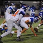 Clairemont High School Varsity Football beat Montgomery 14-0