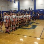 Clairemont High School Girls Varsity Volleyball beat San Diego High School 3-1