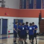 Boys Varsity Volleyball beats SD High