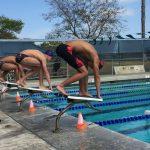 Boys Varsity Swimming beats Hoover 106 – 5