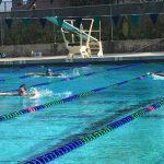 Girls Varsity Swimming beats Hoover 91 – 38