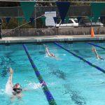 Girls Varsity Swimming finishes 1st place vs Kearny