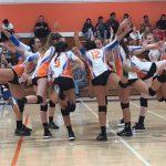 Girls Varsity Volleyball falls to Orange Glen 3 – 2