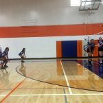 Girls Freshman Volleyball vs Hoover 2 – 0