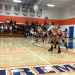 Girls Varsity Volleyball falls to Hoover 3 – 2