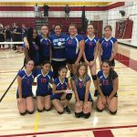 Freshman Girls Volleyball takes 2nd in Tournament