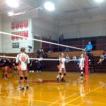 Girls Varsity Volleyball beats Hoover 3 – 2