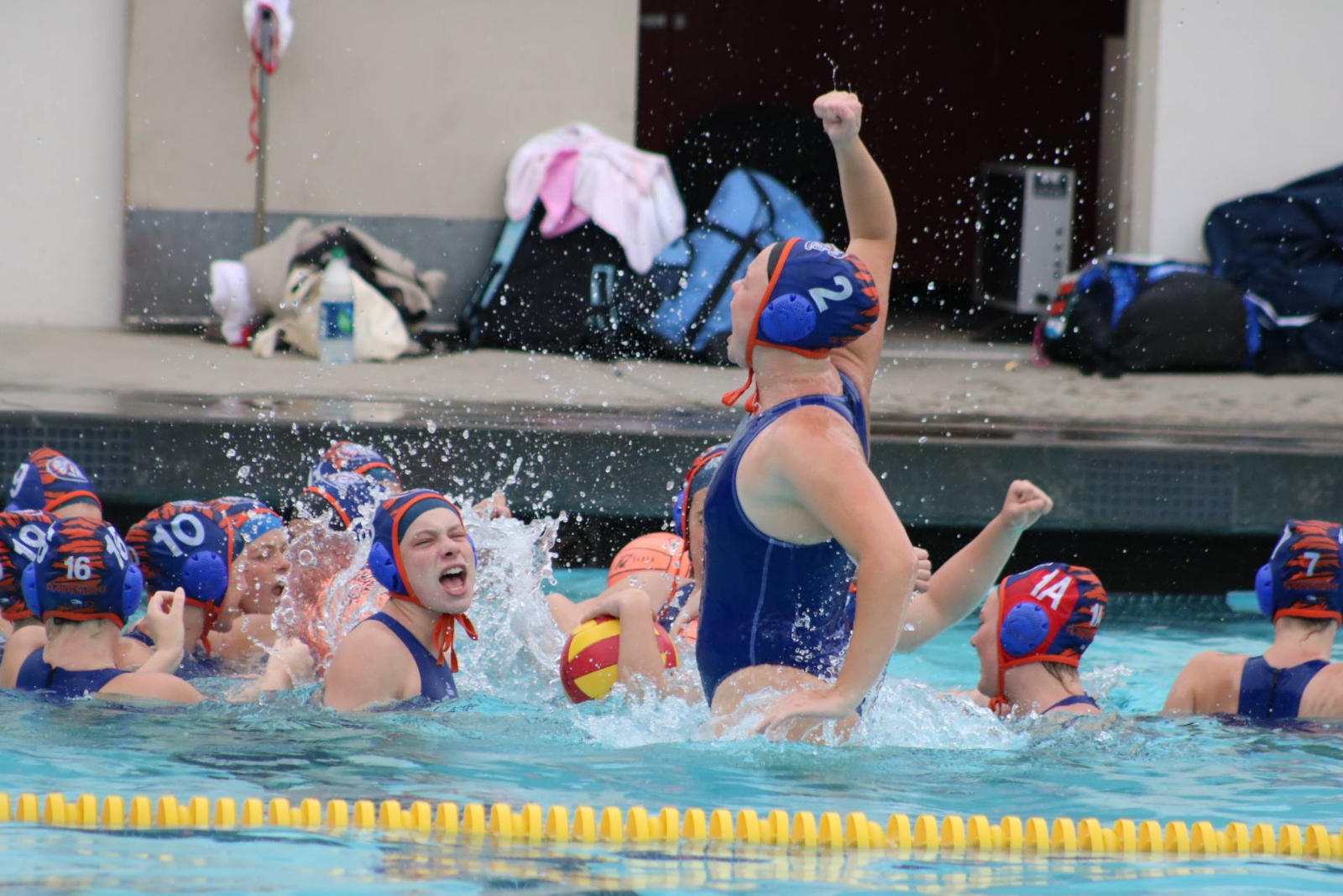Varsity Water Polo Places Third in LA