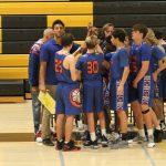 JV Boys Basketball game 1