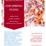 CHS Foundation Spring Fling, Apr.13th