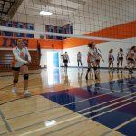 Girls Freshman Volleyball beats Christian 2 – 0