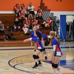 Girls Junior Varsity Volleyball beats Santana 2 – 1