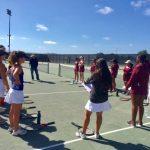 Lovely win over Kearny by Girls Tennis!