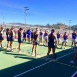 Girls Tennis defeats Christian to make them 5-0!