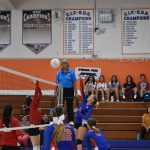 Girls Varsity Volleyball beats Hoover 3 – 0