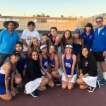 Come from behind Victory over Kearny for Girls Tennis!