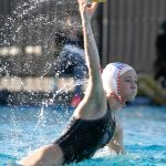 Clairemont VS Pt. Loma Girls Water Polo Action shots By Thom Vollenweider Photography