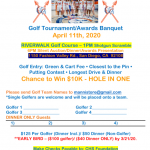 Girl's Basketball Golf Tournament April 11th