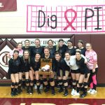 Ranger Volleyball beats Aitkin 3-1 on Senior Night