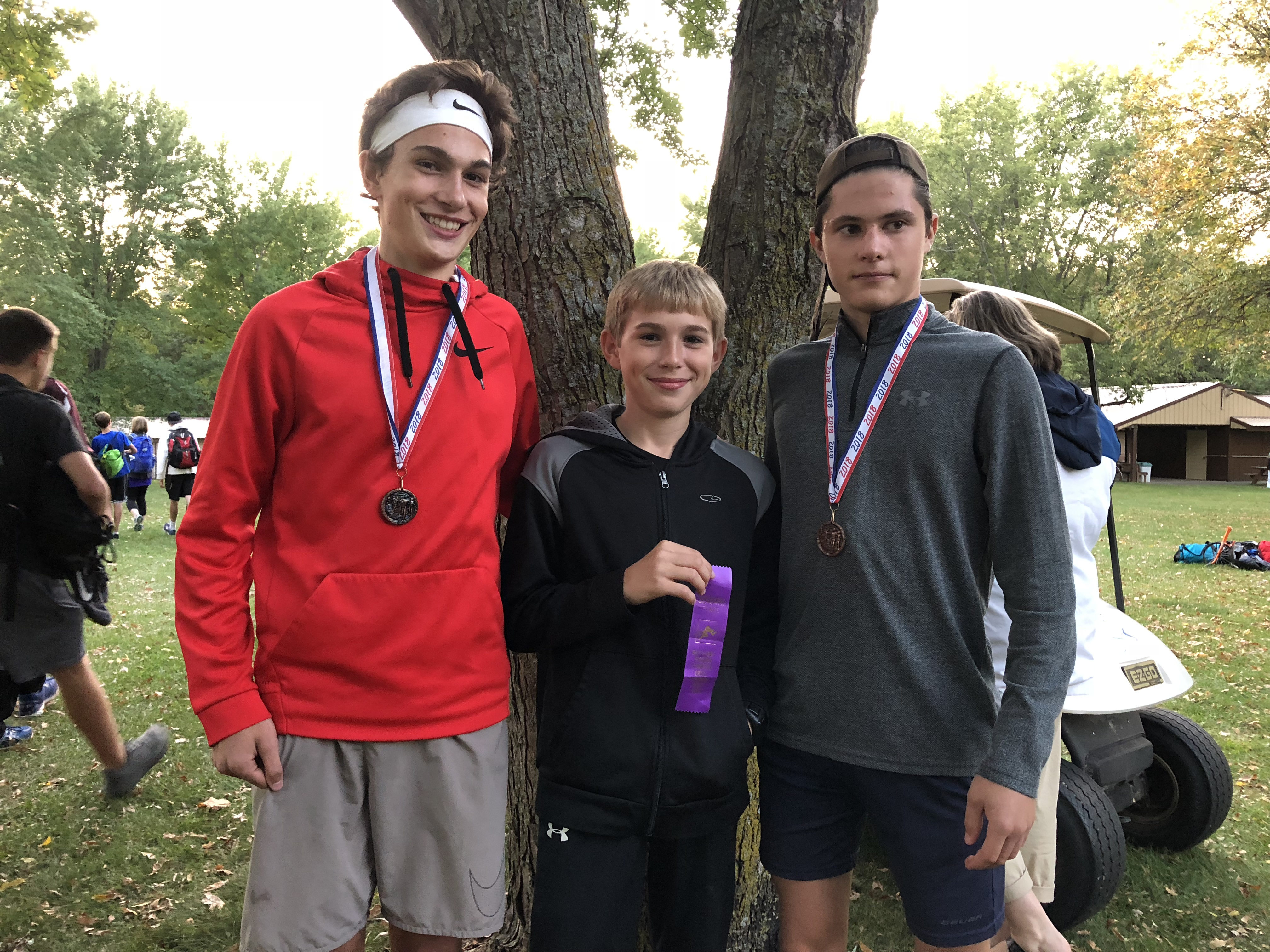 Ranger XC Competes at Pierz Meet