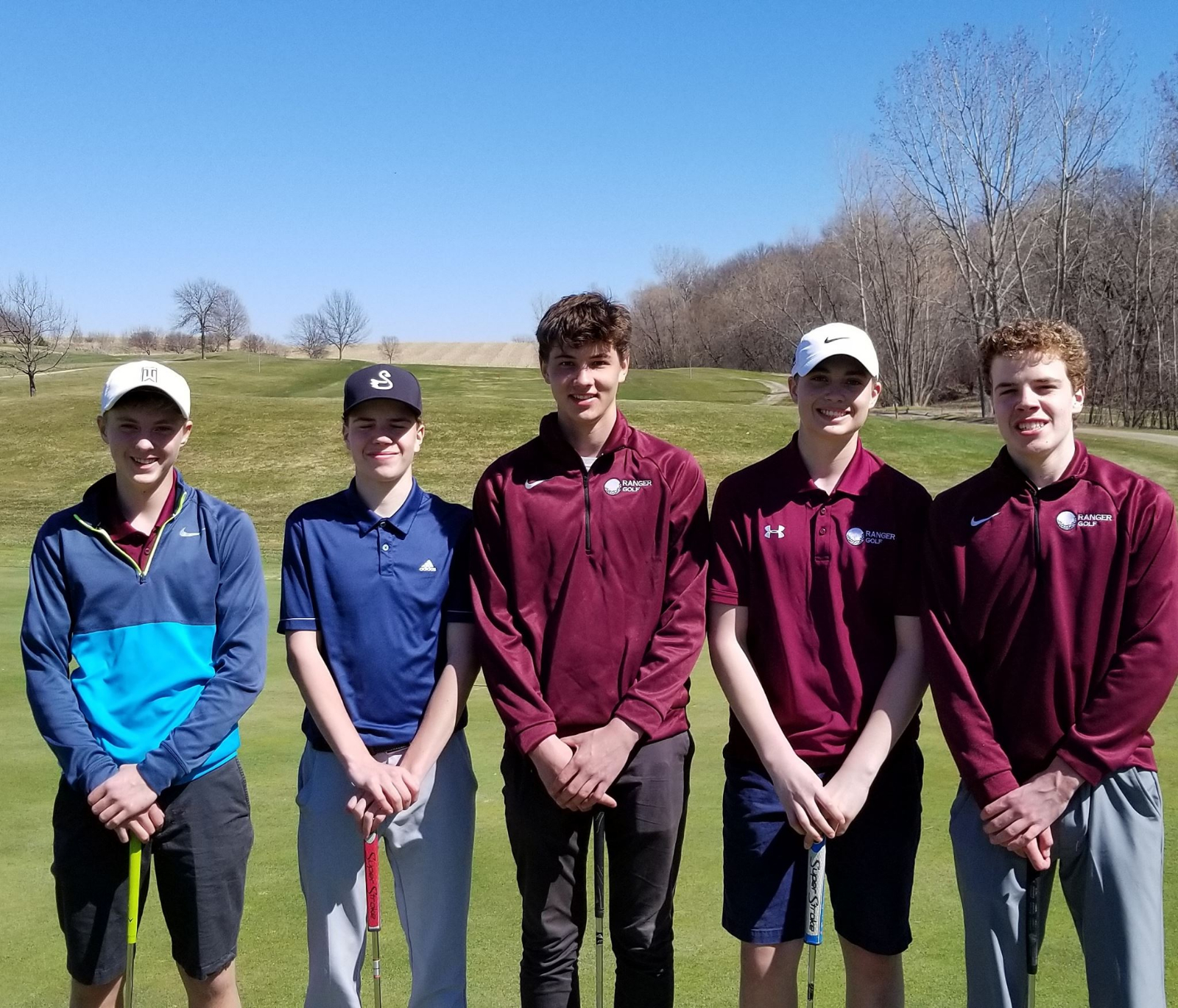 Ranger golf takes 5th in Faribault